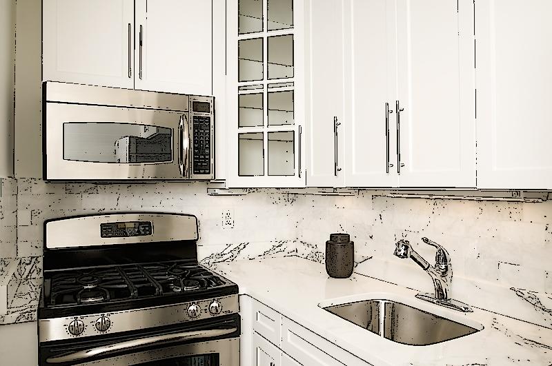 Cocina peque a contornos tu casa ideas hogar y decoraci n for Cocinas exteriores pequenas