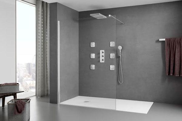 Duchas modernas fotos finest fotos de duchas imagenes de - Que plato de ducha es mejor ...