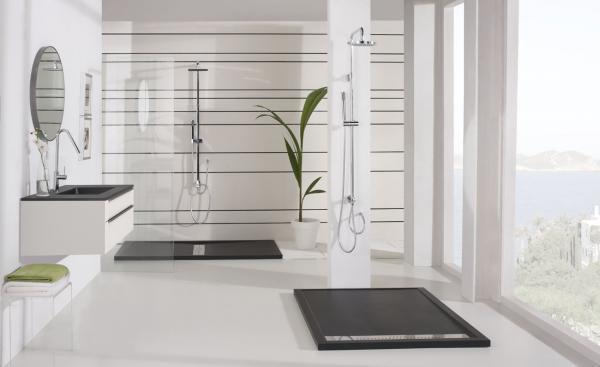 Baños Modernos Con Plato De Ducha:CAMBIA TU BAÑERA POR UN PLATO DE DUCHA