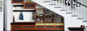 Armar un mueble para distintos elementos