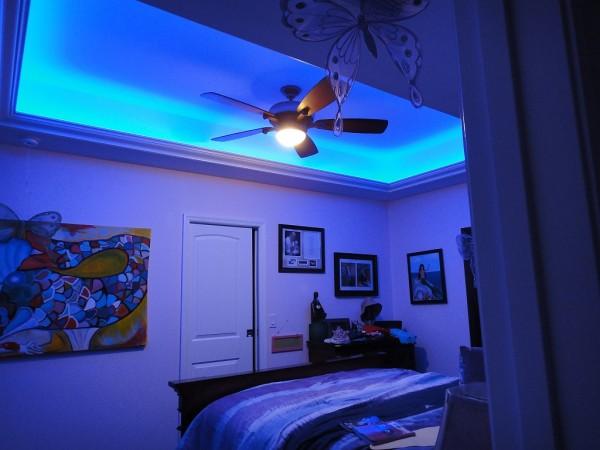 Luces led en el hogar resistentes luminosas y modernas - Habitaciones con luces ...