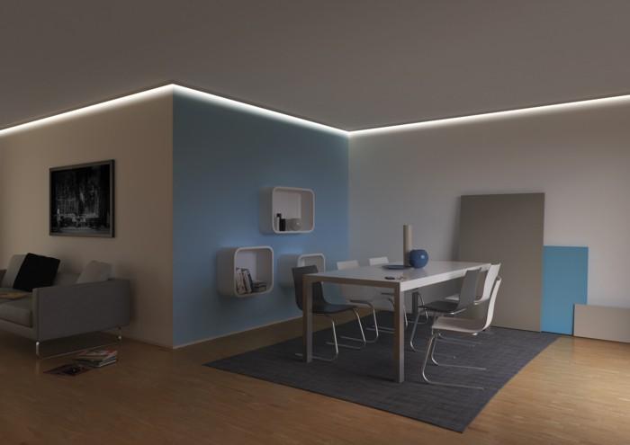 iluminación-led-salón-techos