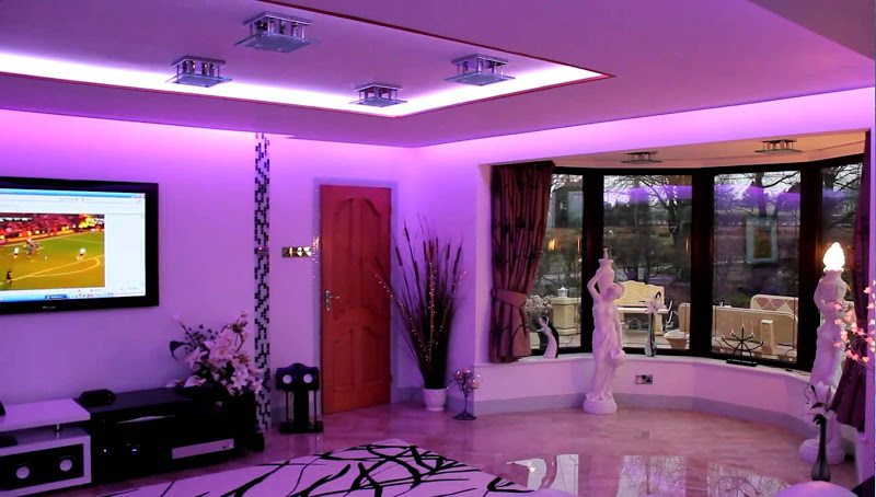 Luces led en el hogar resistentes luminosas y modernas - Luces led para salon ...