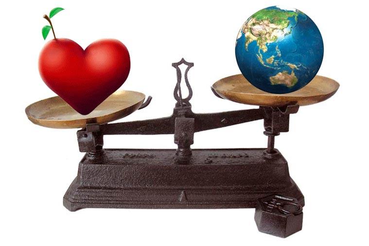 El balance entre lo que tienes y quién eres determina tu felicidad